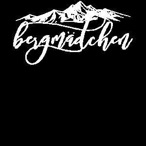 Bergmädchen - Berge Damen Mädchen Geschenk