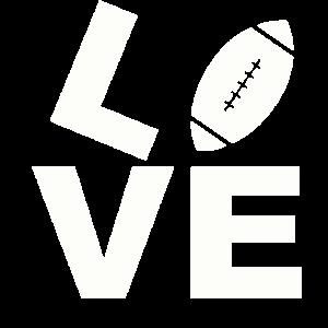 Love Football American Football Super Bowl T-Shirt