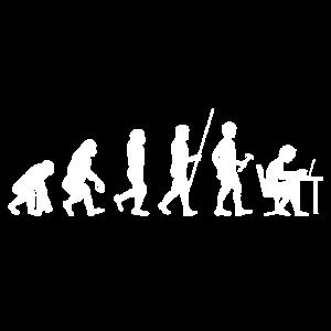 Evolution Entwicklung Programmierer Geschenk