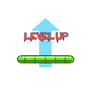 Level up gaming best tshirt gift to gamers