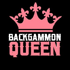 Backgammon-Brettspiel Schach-Dame