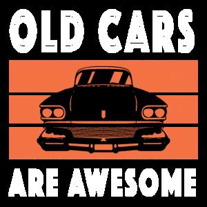 Alte Autos sind unglaublich Oldtimer Liebe