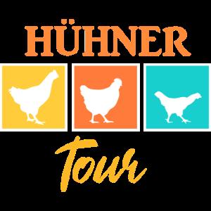 Mädels Hühner Tour
