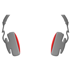 Kopfhörer cool einfach und klassisch