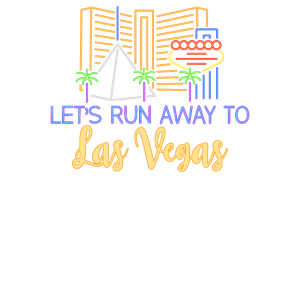 Let's run away to Las Vegas Geschenk Urlaub Trip