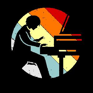 Piano spielen Klavier Pianist Geschenk Süß
