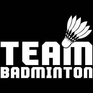 Team Badminton Federball Shirt Geschenk