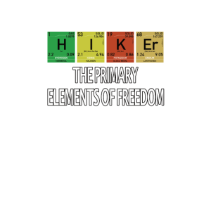 Nerd Geek Hiking Hiker funny Elements