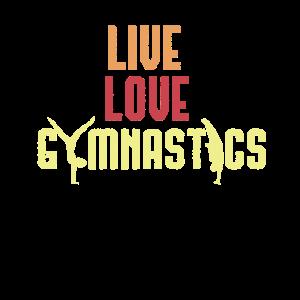 Cooles LiveLiebe-Gymnastik-Turnergeschenk