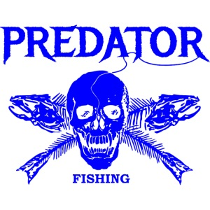Predator fishing blue