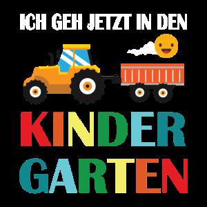 Ich gehe jetzt Kindergarten