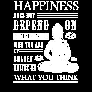 Buddha Zitat Zen Buddhismus Yoga Glück