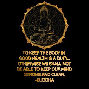 Buddha Zitat Zen Buddhismus Yoga Gesundheit
