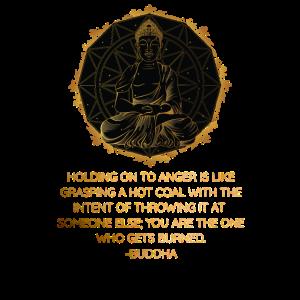 Buddha Zitat Zen Buddhismus Yoga Release Wut