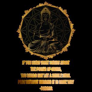 Buddha Zitat Zen Buddhismus Yoga geben