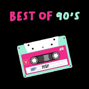 90s Party Kostüm 90er Jahre Outfit 90's Kassette