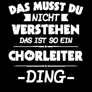 Chorleiter Dirigent Chorleiterin Geschenk & Sopran