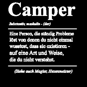 Camper Wohnwagen Wohnmobil Geschenk & Zelter