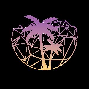 Geometrie Palmen Geometrisch Palme