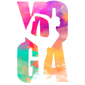 Yoga Namaste Aquarell