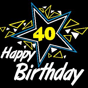 40 Happy Birthday Star ...+