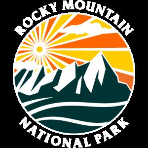 Rocky Mountain National Park Grafik