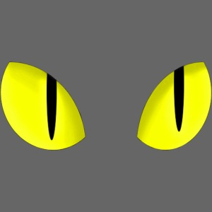 Yellow Cat Eyes | Yeux Jaunes De Chat