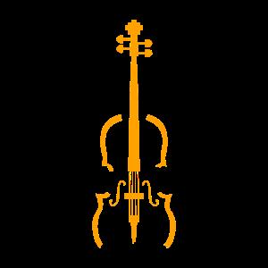 Cellist Musikinstrument