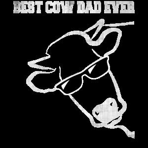 BEST COW DAD EVER VERWASCHEN