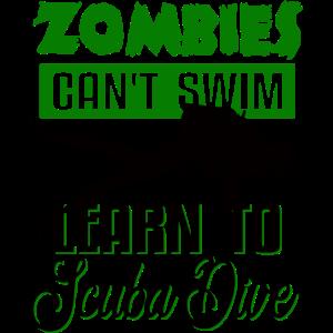 Zombie Taucher
