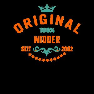 Sternzeichen Widder - 2002 18 Geburtstag