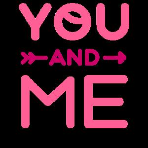 Du und Ich Süßes Valentinstag Geschenk Für Sie Ihn