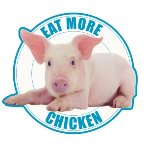 Eat more chicken - Sweet piglet