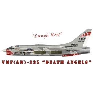 F-8 Crusader VMF-235 Death Angels