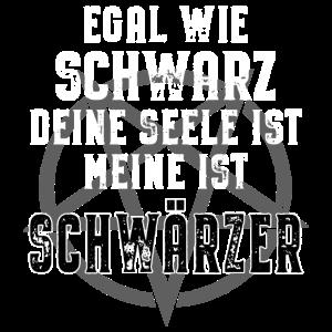 Schwarze Szene Pentagramm Schwarzer Humor Spruch