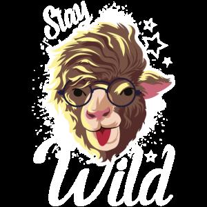 alpaca hipster wild