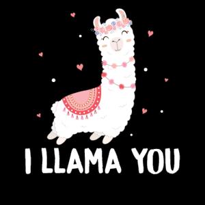 Lama Lover Geschenkidee I Llama You