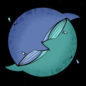 whale yin-yang
