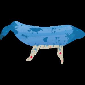 Wal aus der Tiefsee