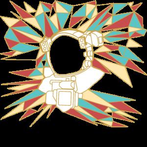 astronaut polygon