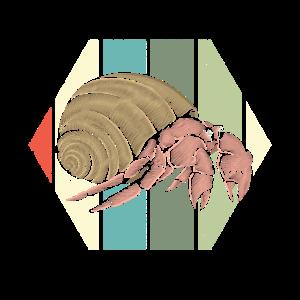 Retro Krebs Tier