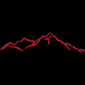Berge rot