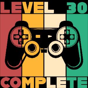 Gamer Level 30