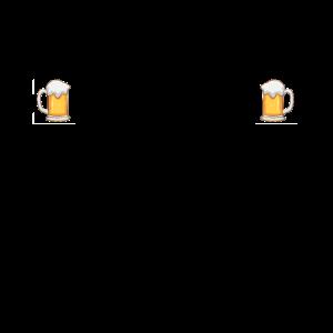 Ich mit dir du mit mir wir mit Bier Partner