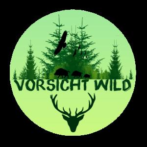 Vorsicht Wild, Jäger, wild,wald, Tiere, Adler, Wi