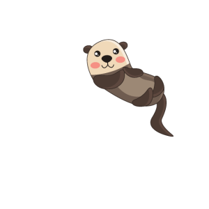 Otter is my Spirit animal Geschenk for Ottern Fans