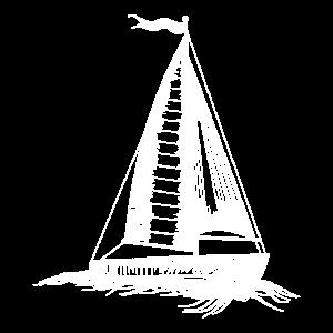 Segelboot Boot Segeln Segler Geschenk