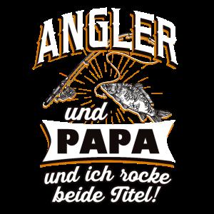 Angler und Papa