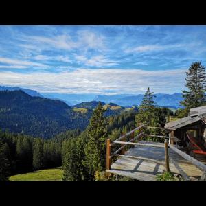 Bayrisches Bergpanorama