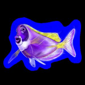 Lila fisch